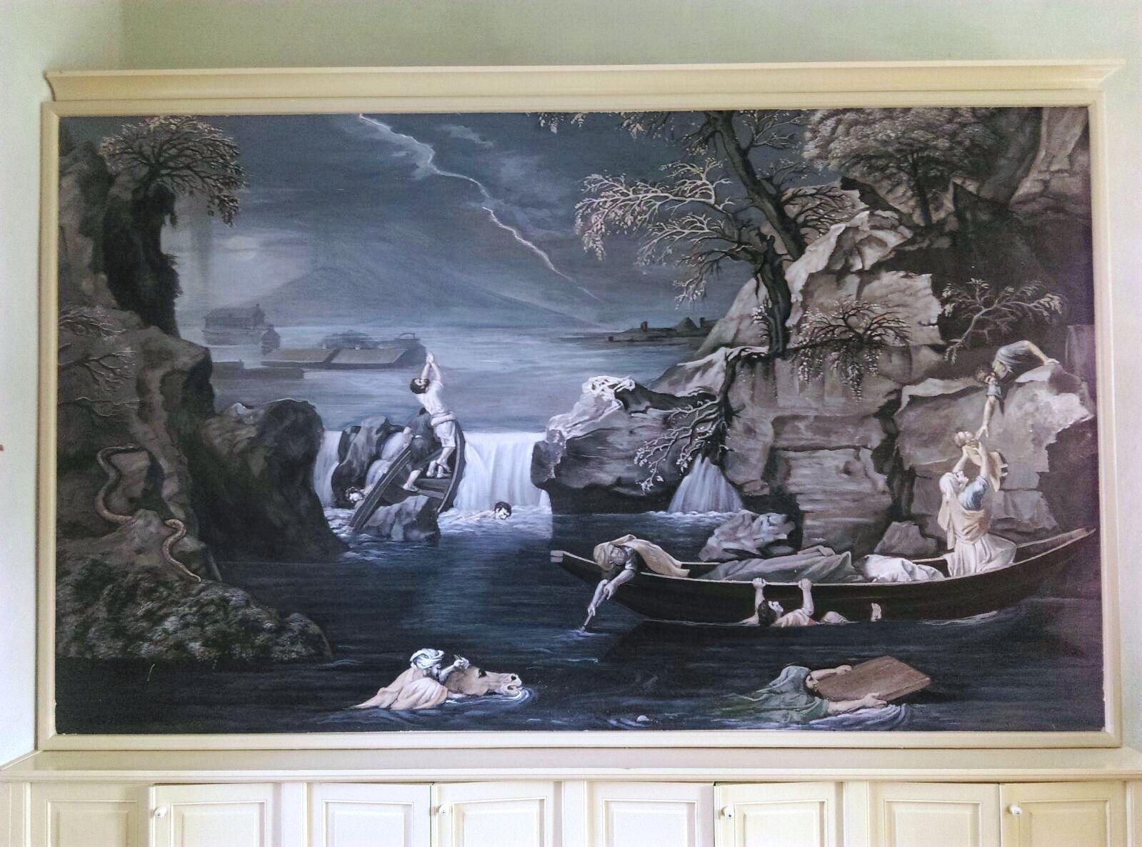 Reproducere dupa Nicolas Poussin Apocalipsa