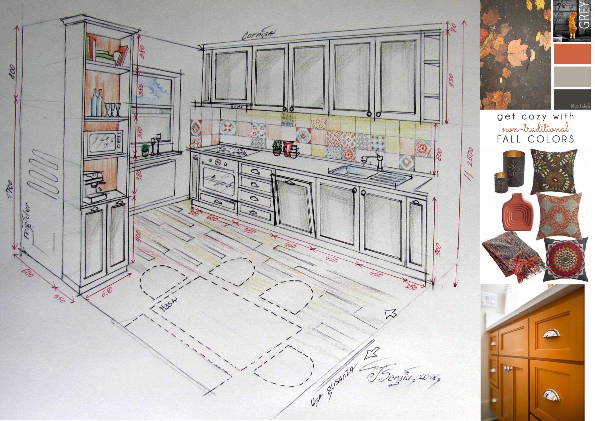 Concept bucatarie rezidential Crangasi